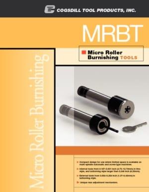 Folleto de Micro Series herramientas de bruñido MRBT