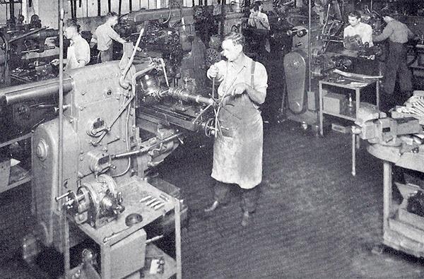 Historia del taller de máquinas Cogsdill