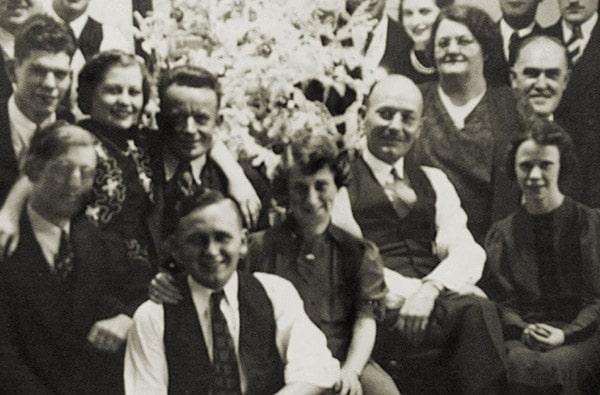 El personal de Cogsdill en 1944
