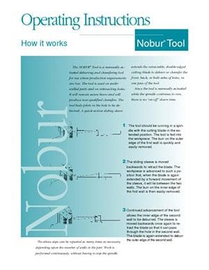 Instrucciones de funcionamiento de Nobur CTP