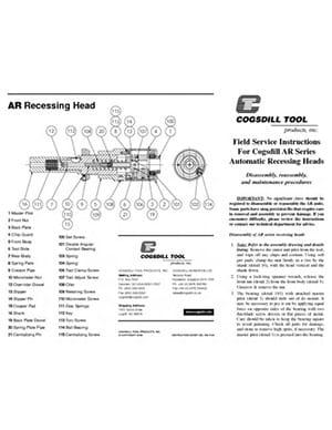 Instrucciones de funcionamiento de la serie AR