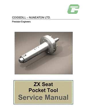 Manual de mantenimiento de la herramienta de bolsillo del asiento de la válvula MBT